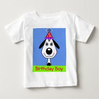 Camiseta del cumpleaños del perrito