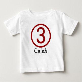 Camiseta del cumpleaños del personalizable de la