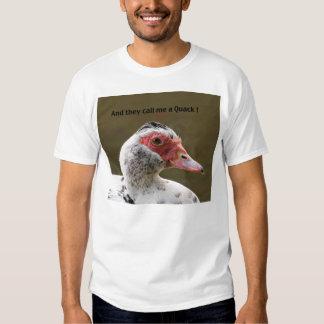 """Camiseta del """"curandero"""" del pato de Muscovy Playera"""