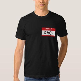 Camiseta del DAG Playera