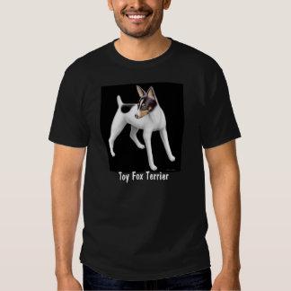Camiseta del dardo del fox terrier del juguete poleras