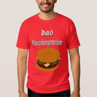 Camiseta del Das Cheeseburgermeister Remeras