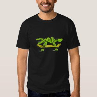 Camiseta del Dedo-Patín Playeras