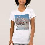 Camiseta del delfín de Marineland del vintage