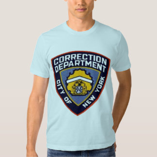 CAMISETA DEL DEPARTAMENTO DE LA CORRECCIÓN DE NYC CAMISAS