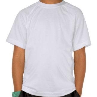 Camiseta del deporte de los niños de los tambores