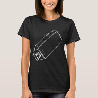 Camiseta del derramamiento de la leche