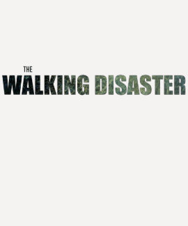 "Camiseta ""del desastre que camina"" playeras"