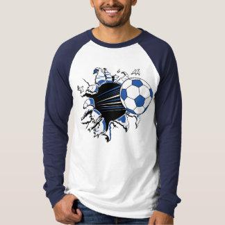 Camiseta del desbloqueo del voleibol