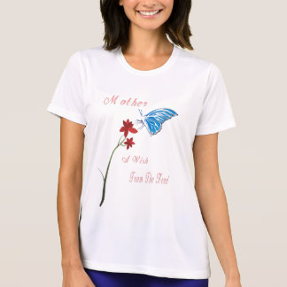 Camiseta del deseo del día de madres