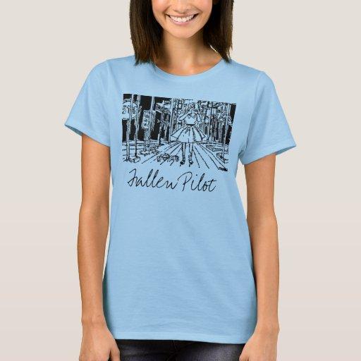 Camiseta del desgaste de mujer
