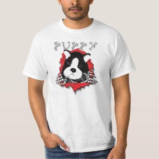 Camiseta del destripador del perrito poleras