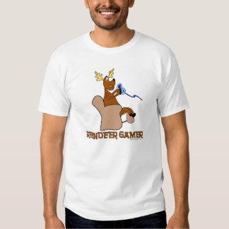 Camiseta del día de fiesta del videojugador del playera