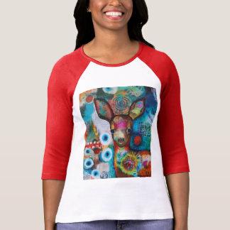"""Camiseta del día de fiesta """"mis ciervos """" playeras"""