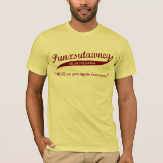 Camiseta del día de la marmota de Punxsutawney