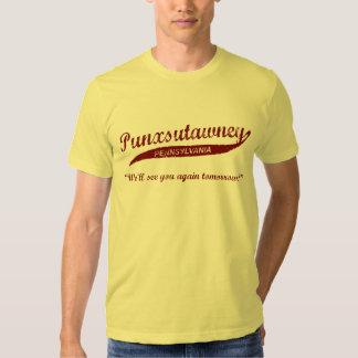 Camiseta del día de la marmota de Punxsutawney Remeras