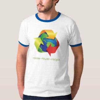 Camiseta del Día de la Tierra - recicle la Playera