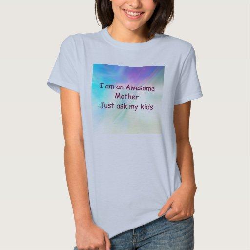 Camiseta del día de madre playeras