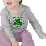 Camiseta del día de primer St Patrick de la niña