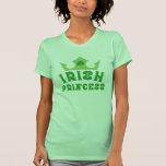 Camiseta del día de princesa St Patrick irlandés