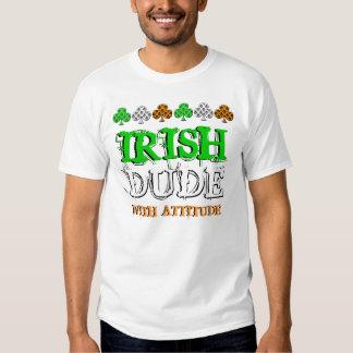 Camiseta del día de St Patrick del irlandés Camisas