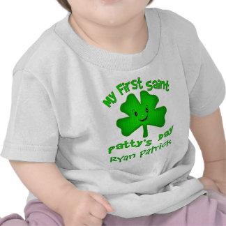 Camiseta del día de St Patrick del irlandés/mono