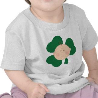Camiseta del día del bebé de St Patrick irlandés