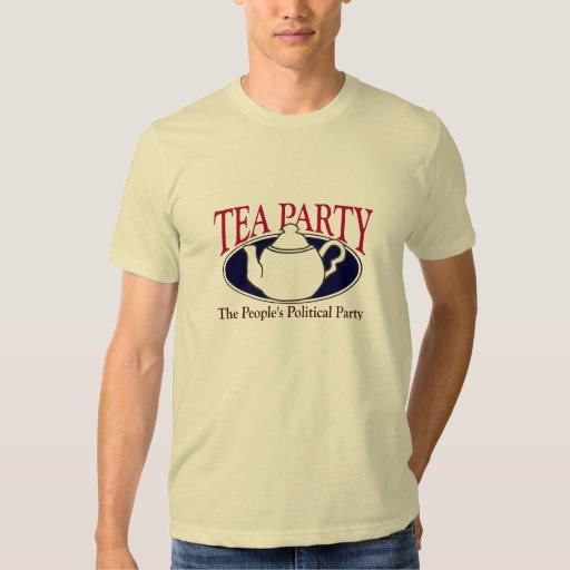 Camiseta del día del impuesto de la fiesta del té remeras