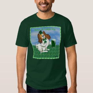 Camiseta del día del St Paddys en verde Playeras