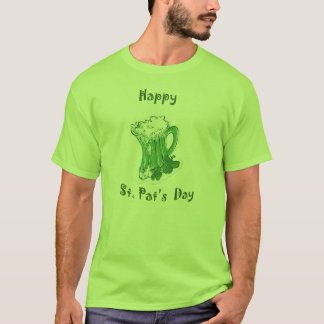 Camiseta del día del St. Pat feliz
