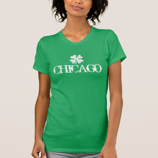 Camiseta del día del St Patricks de Chicago con el