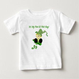 Camiseta del día del St. Patricks del Leprechaun