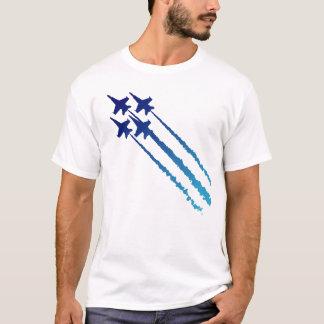 Camiseta del diamante de los ángeles azules