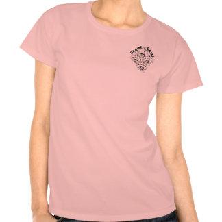 Camiseta del diamante de mamá B&W del drama