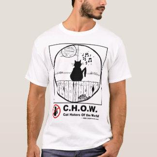 Camiseta del dibujo animado del alcance de los