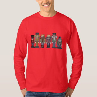 Camiseta del dibujo animado del día de fiesta del playeras