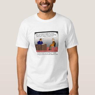 Camiseta del dibujo animado del examen de recursos playeras