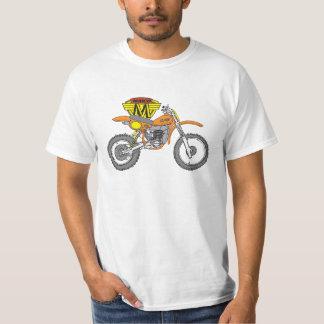 Camiseta del dibujo animado del motocrós de Maico Polera