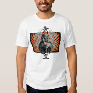 Camiseta del diente de perro del tigre del dragón remera