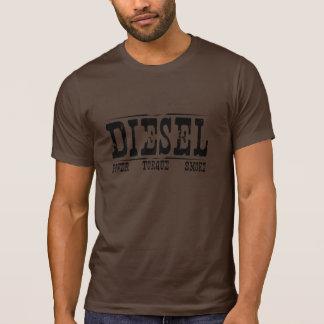 Camiseta del diesel del Grunge