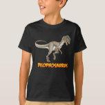 Camiseta del Dilophosaurus de los NIÑOS Camisas
