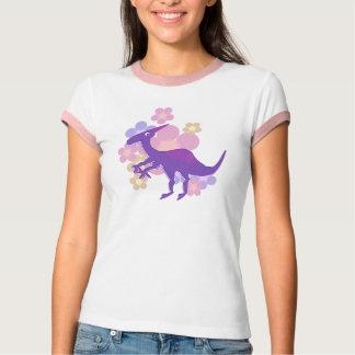 Camiseta del dinosaurio de Parasaurolophus de la Remera