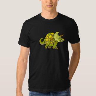 Camiseta del dinosaurio del dibujo animado poleras