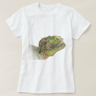 Camiseta del dinosaurio del t-rex de la diversión