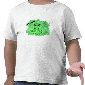 camiseta del dinosaurio del t-rex para los