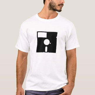 Camiseta del disco blando del pictograma