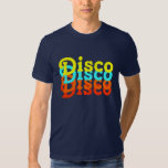 Camiseta del disco playera