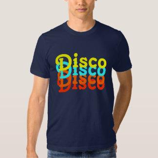 Camiseta del disco polera