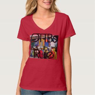 Camiseta del diseñador de la regla de OTTBs Poleras