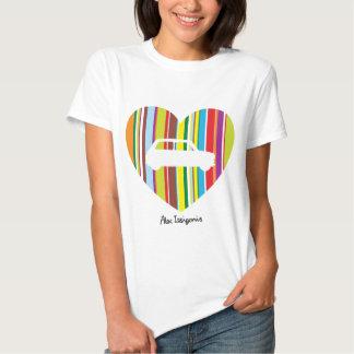 Camiseta del diseñador polera